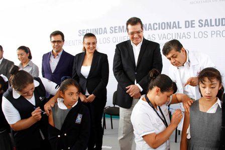 Presenta Marco Mena el Programa Salud en tu Escuela