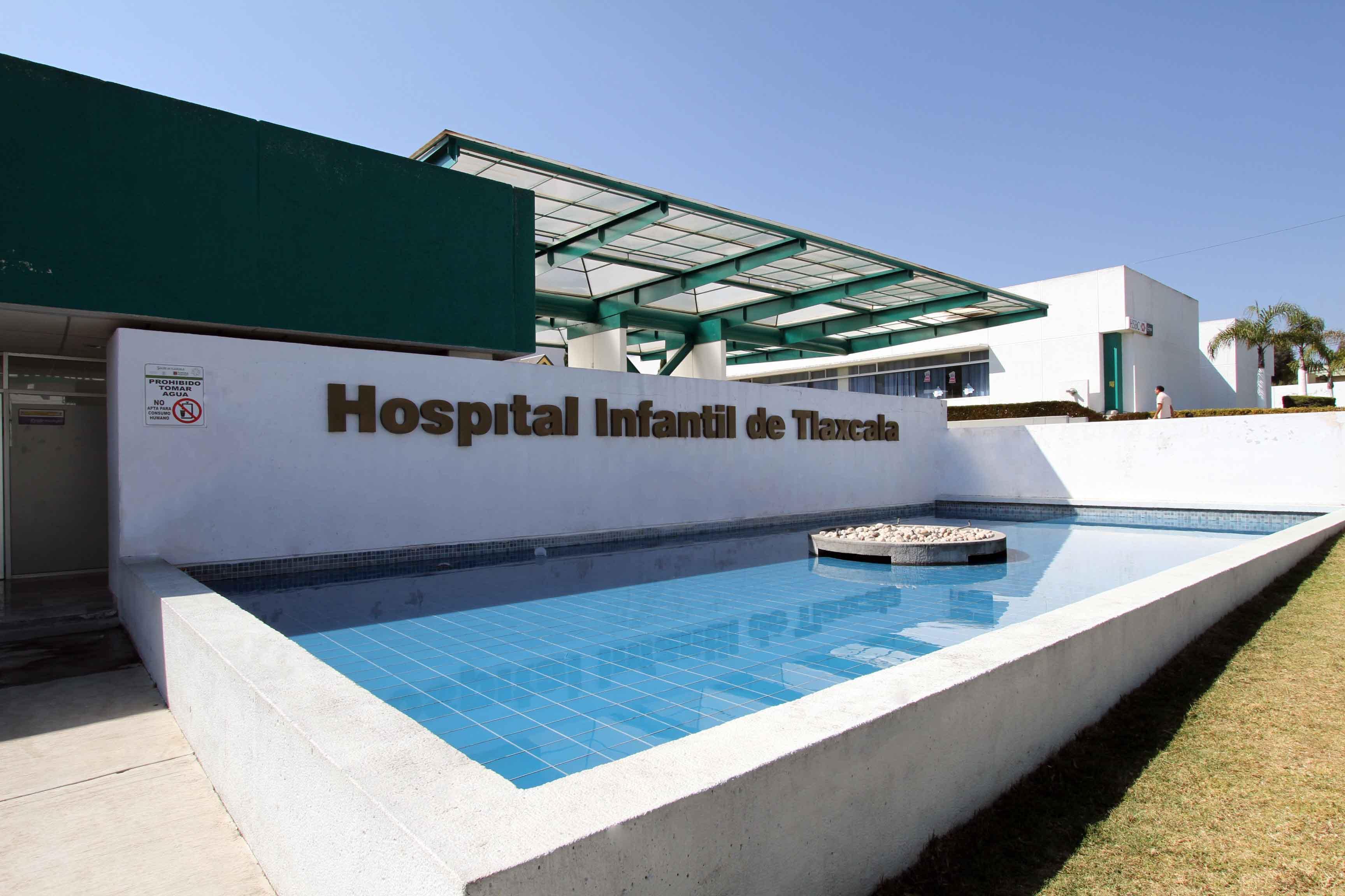 Ofrece Hospital Infantil de Tlaxcala más de 20 servicios y especialidades