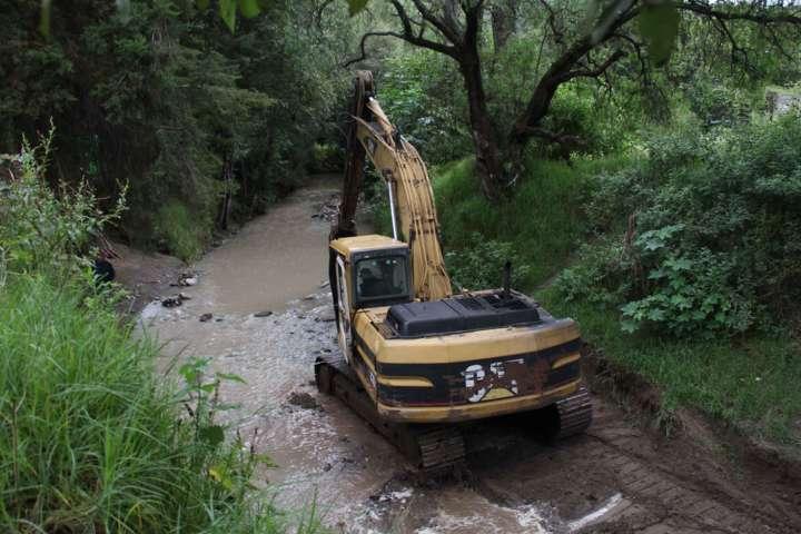 Desazolva Secoduvi ríos y barrancas de 11 municipios