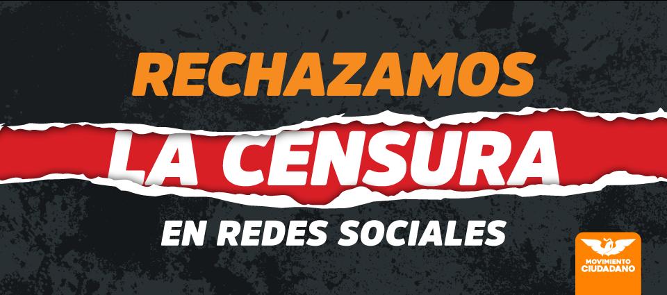 Rechaza Movimiento Ciudadano Tlaxcala, censura de INE a redes sociales