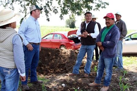 Productores tlaxcaltecas visitan huertas en Puebla