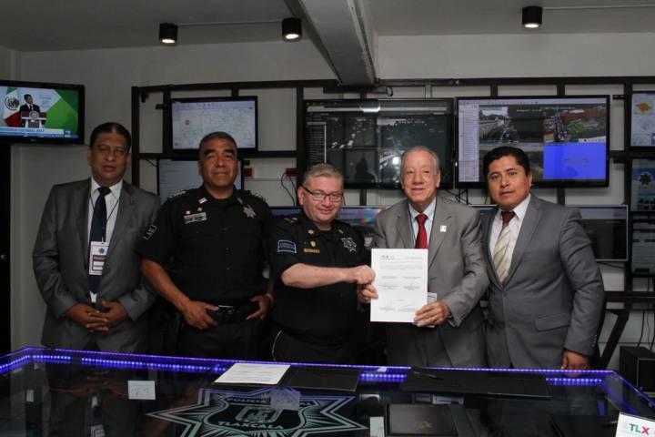 Fortalecen estrategias de prevención y atención al robo de vehículos en Tlaxcala