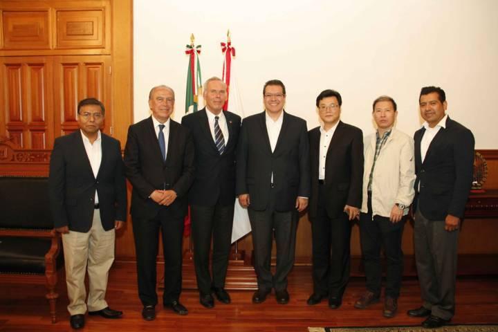 Exploran empresarios chinos inversiones en Tlaxcala