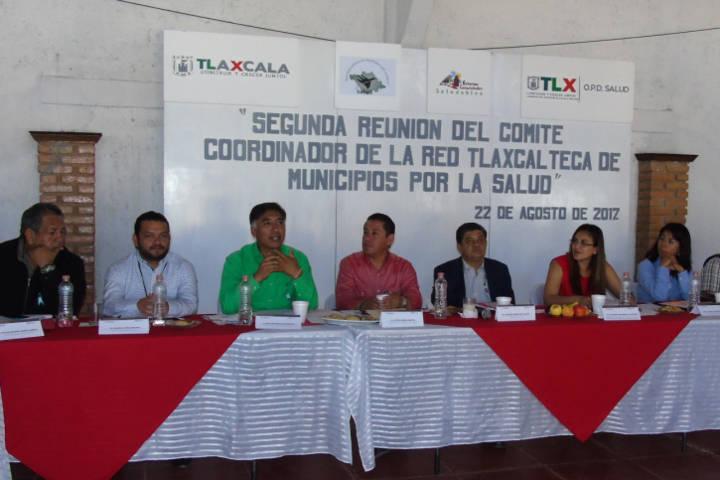 Participa SESA en reunión de la Red de Municipios por la Salud