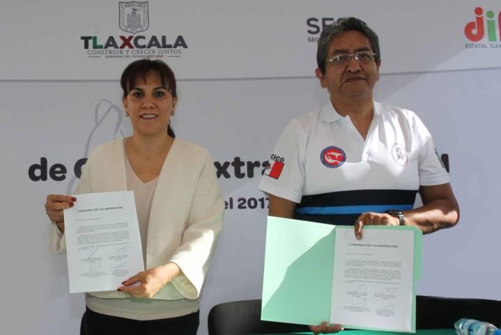 Trabajamos por la salud de los tlaxcaltecas: Sandra Chávez