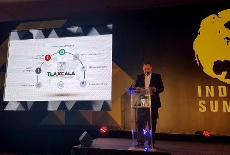 Participó Tlaxcala en el Industrial Summit Forum y Expo 2017
