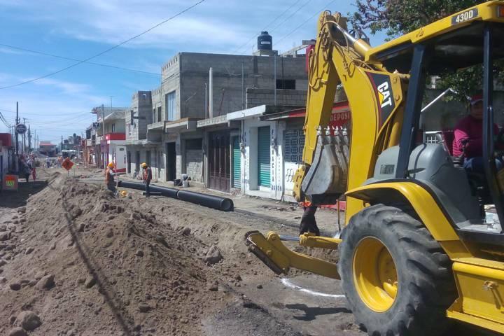 Mejora Secoduvi la carretera Huamantla - La Venta