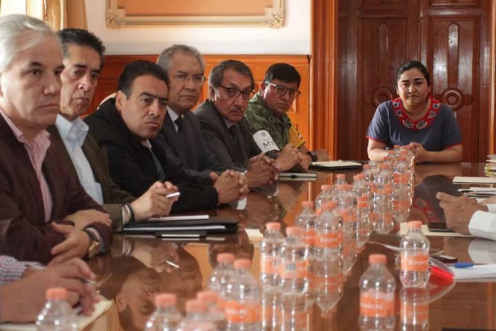 Instalan Comité Técnico de Evaluación de Daños tras el sismo