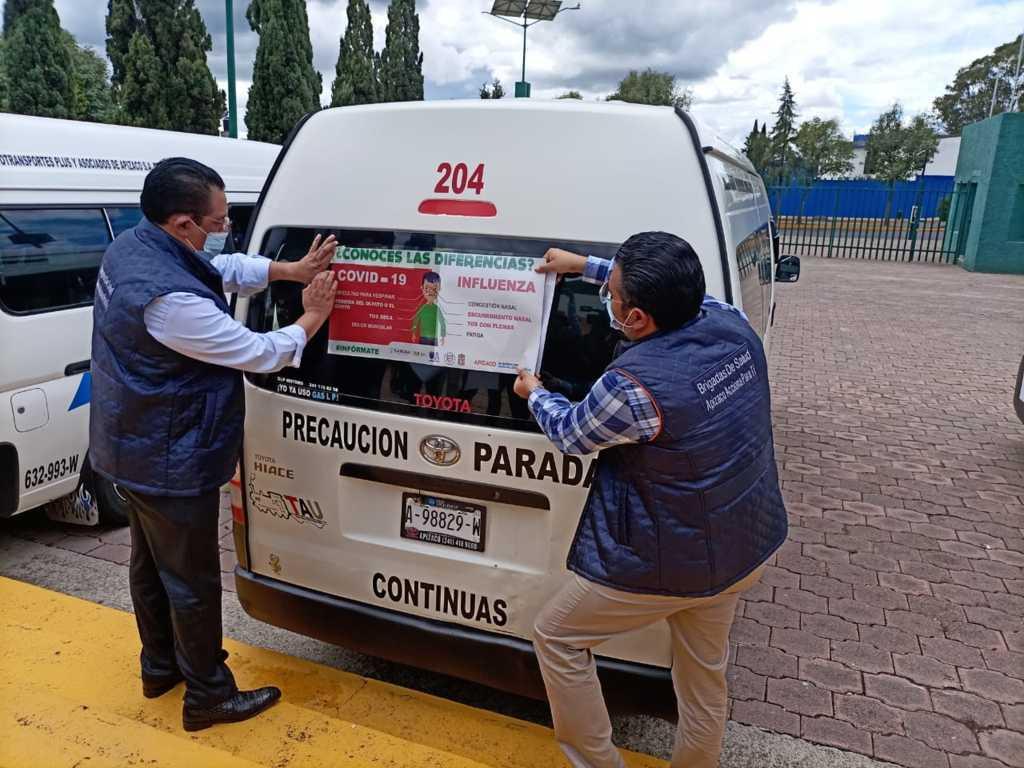 Inician operaciones Brigadas Municipales Ante Covid-19 en Apizaco