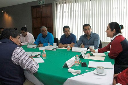 Sostiene Segob quinta reunión regional; ahora con alcaldes del sur