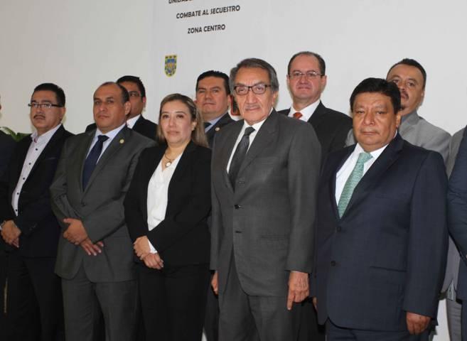Tlaxcala sede de la Décimo Cuarta Reunión de Unidades Antisecuestro Zona Centro