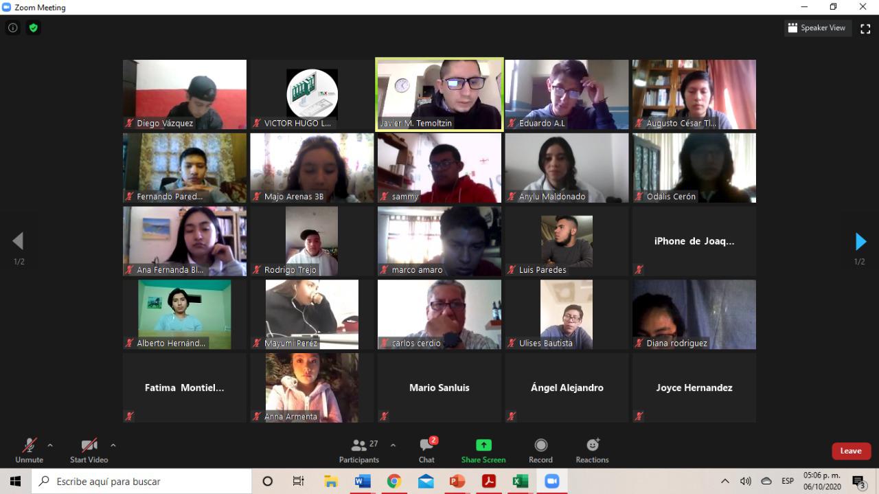 Inicia Cossies cursos virtuales dirigidos a jóvenes prestadores de servicio social