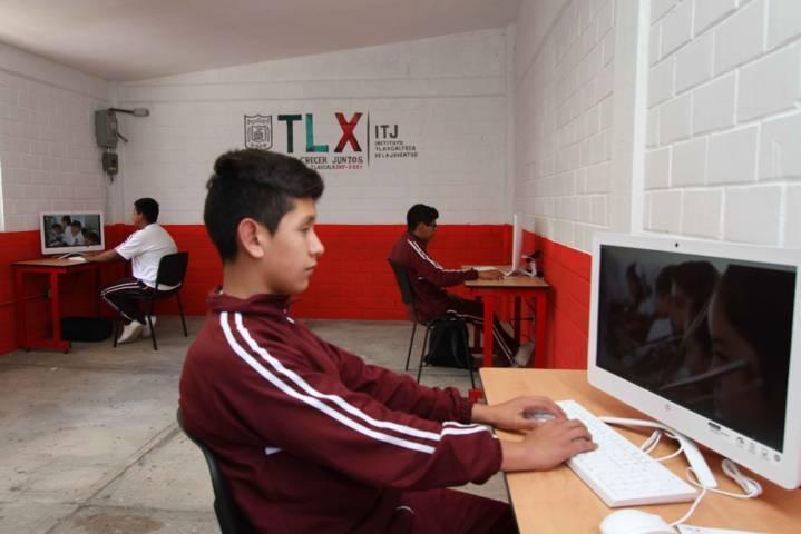 Inaugura ITJ Centro de Desarrollo Juvenil en San Lucas Tecopilco
