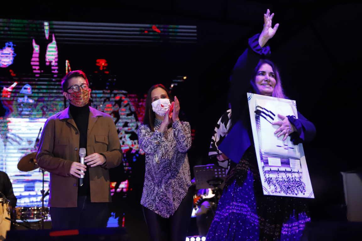 Gran concierto musical ofreció Tania Libertad en Tlaxcala