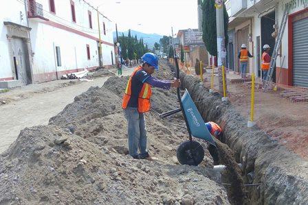 Moderniza gobierno de Mena imagen urbana de Teolocholco
