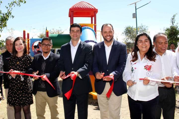 Inauguran en Zacatelco Centro de Acondicionamiento Físico Vive tu Parque