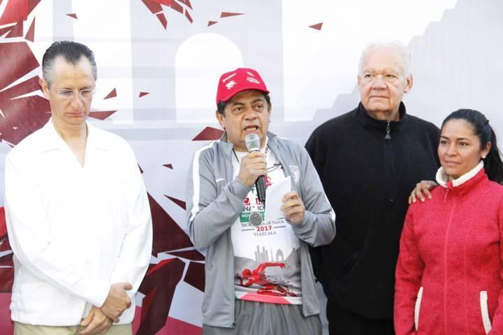 Participó Tlaxcala en la Carrera Nacional Moviendo a México por tu Salud