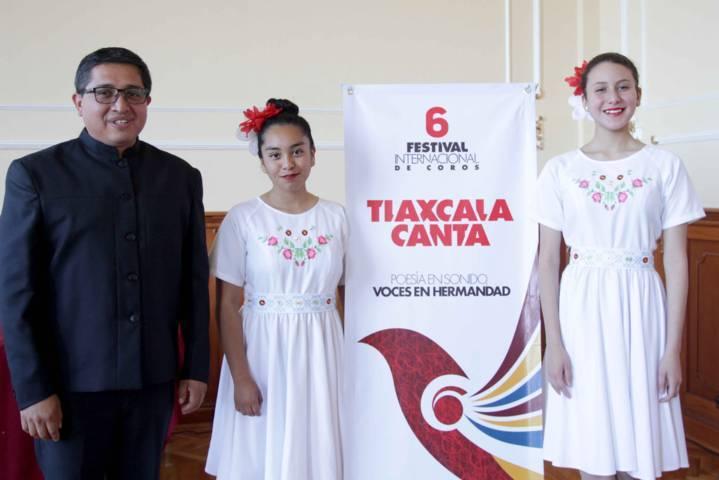 """PRESENTA ITC SEXTO FESTIVAL INTERNACIONAL  DE COROS """"TLAXCALA CANTA"""""""