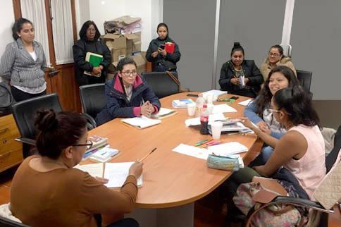 Capacitan a personal del IEM sobre empoderamiento de la mujer