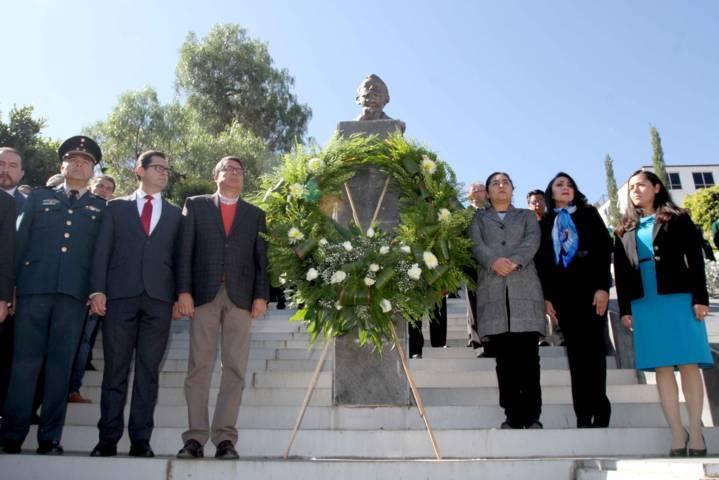 Conmemoran 107 Aniversario del Inicio de la Revolución Mexicana