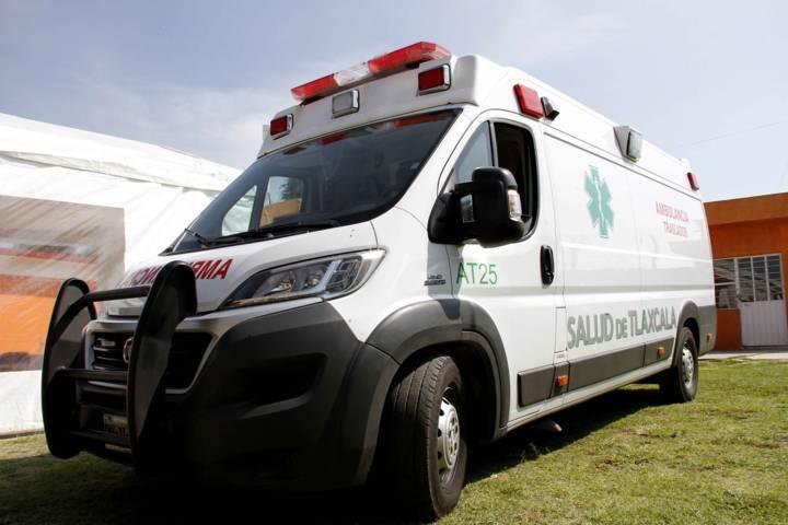 Atiende SESA a lesionados de accidente en Huamantla