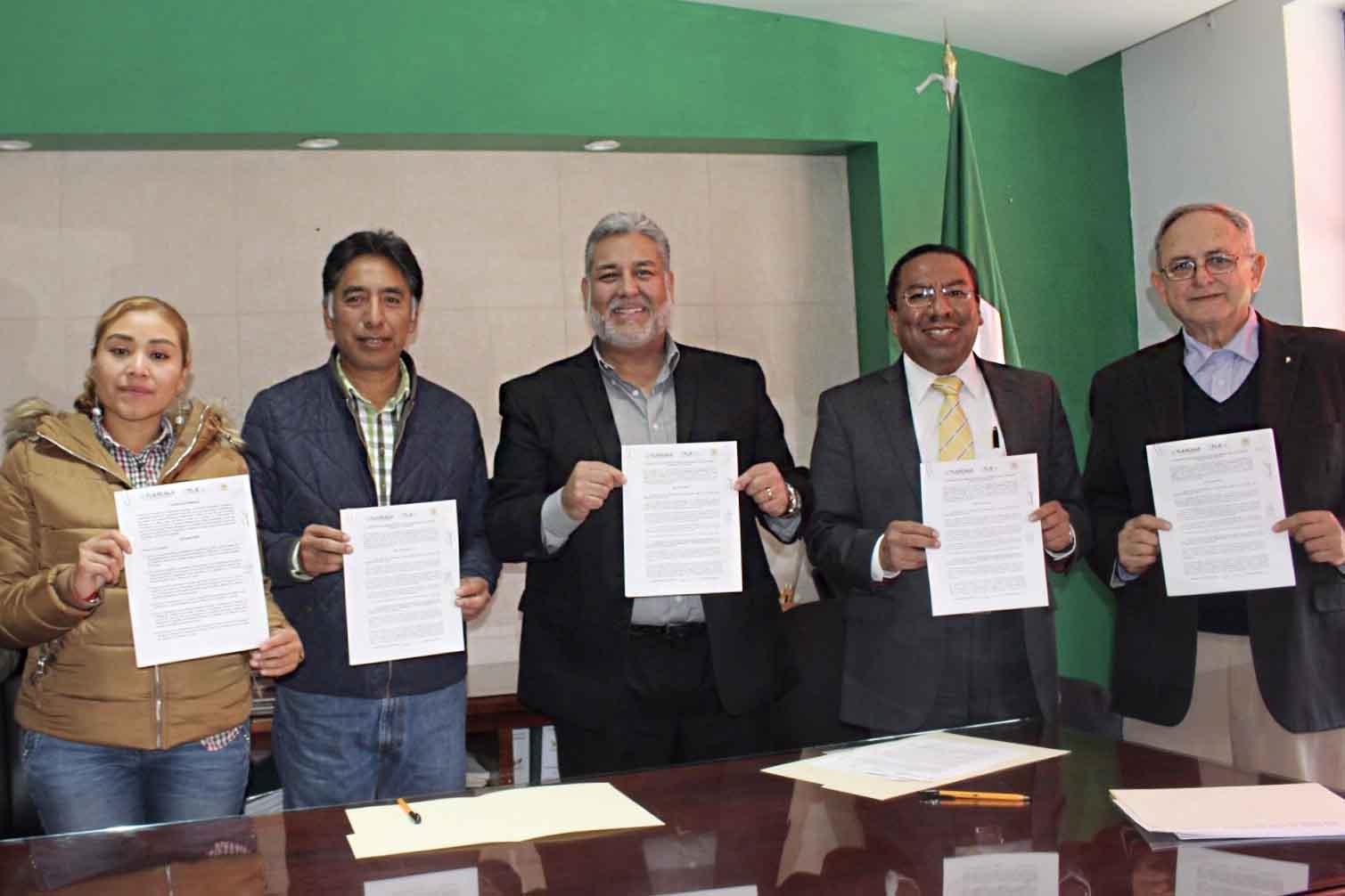 Firma ITC convenio de colaboración con el Ayuntamiento de Papalotla