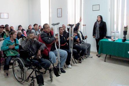 Ofreció ITPCD atención integral a personas con discapacidad