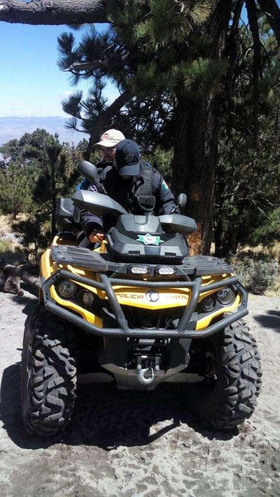 Atiende Policía Estatal a tres excursionistas