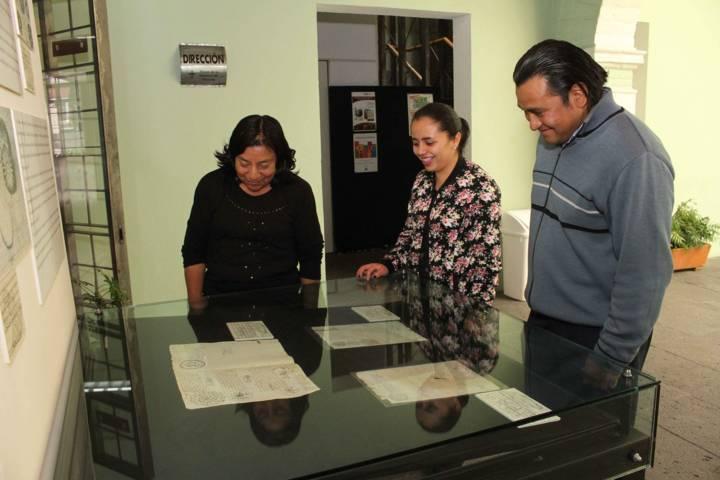 Dedican vitrina del mes a sellos para elaboración de pan en la provincia de Tlaxcala