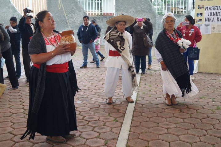 Realizan SEPUEDE e ICATLAX acciones en beneficio de comunidades indígenas