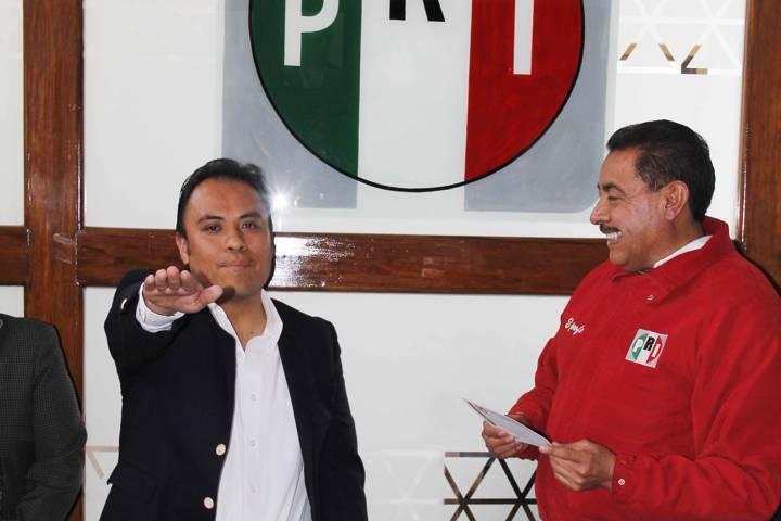 Toma protesta el nuevo secretario de comunicación institucional del PRI Tlaxcala