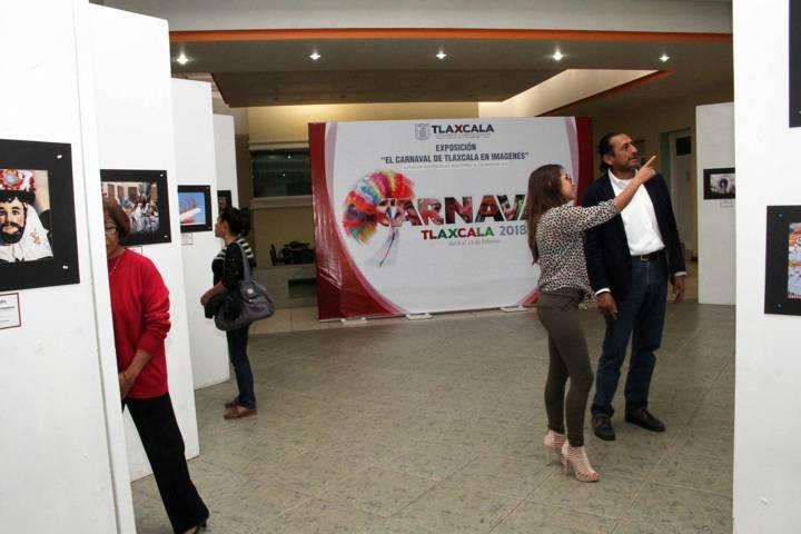 Abre SEPE Exposición del XIX Certamen Fotográfico El Carnaval de Tlaxcala en Imágenes 2018