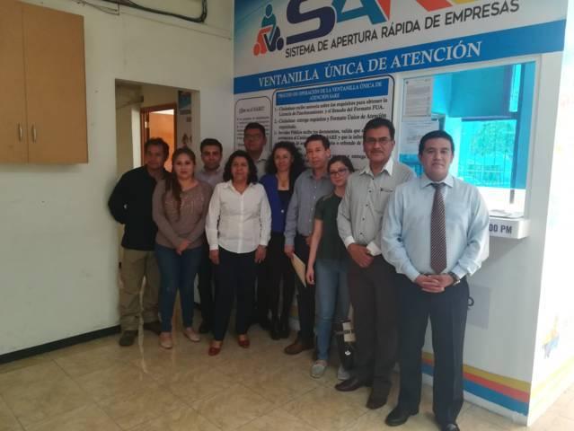 Brinda SEDECO servicio de orintación a municipios que cuentan con ventanillas SARE