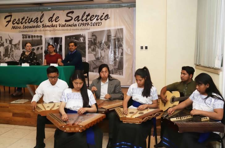 Presenta Secture Quinto Festival de Salterio