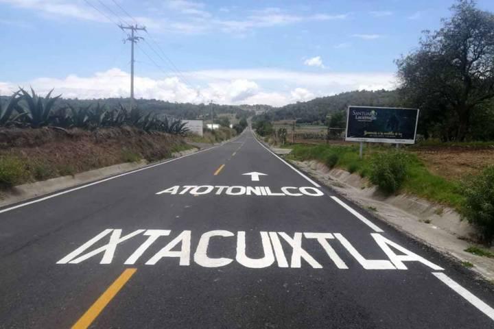 Concluye Secoduvi rehabilitación de carretera Ixtacuixtla- Nanacamilpa