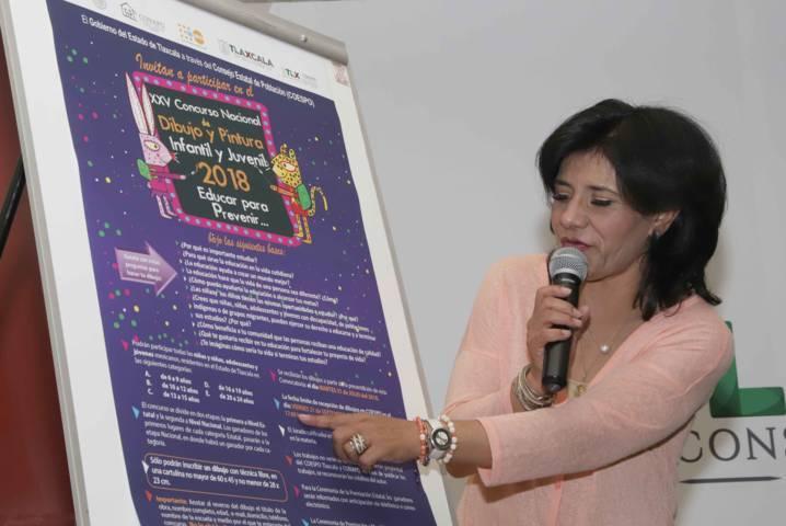 Invita COESPO a participar en el XXV Concurso Nacional De Dibujo Y Pintura Infantil Y Juvenil 2018