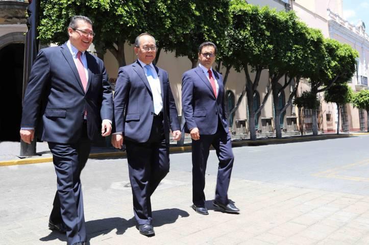 Marco Mena y embajador chino en México fortalecen cooperación