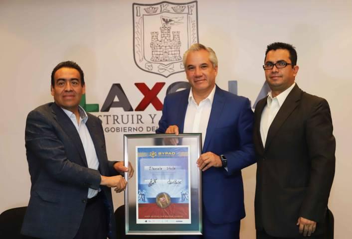 Tlaxcala, primer estado del país en obtener certificación de la Red Internacional Bypad