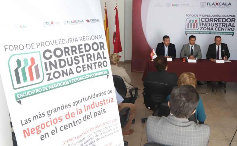 """Presenta Sedeco """"Foro De Proveeduría Regional Corredor Industrial Zona Centro"""""""