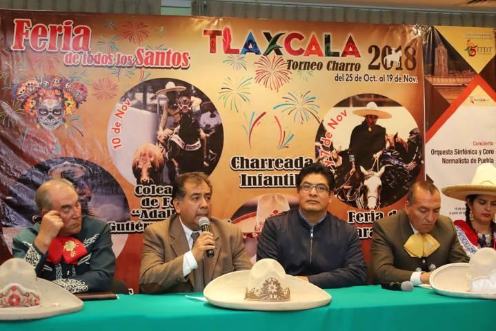 """Presentan actividades taurinas de """"Tlaxcala Feria 2018"""""""