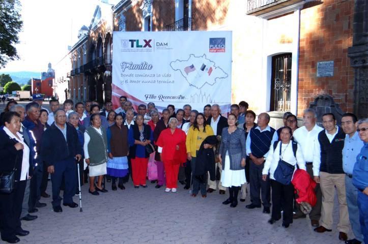 Respalda DAM reencuentro de tlaxcaltecas con sus familiares migrantes
