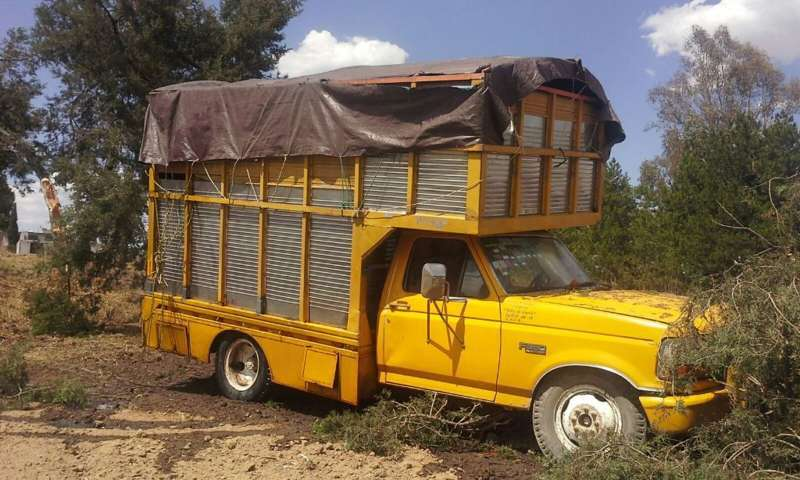 Asegura Policía Estatal camioneta con hidrocarburo ilegal