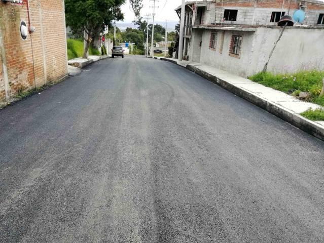 Rehabilita Secoduvi avenida amistad sur en Apetatitlán