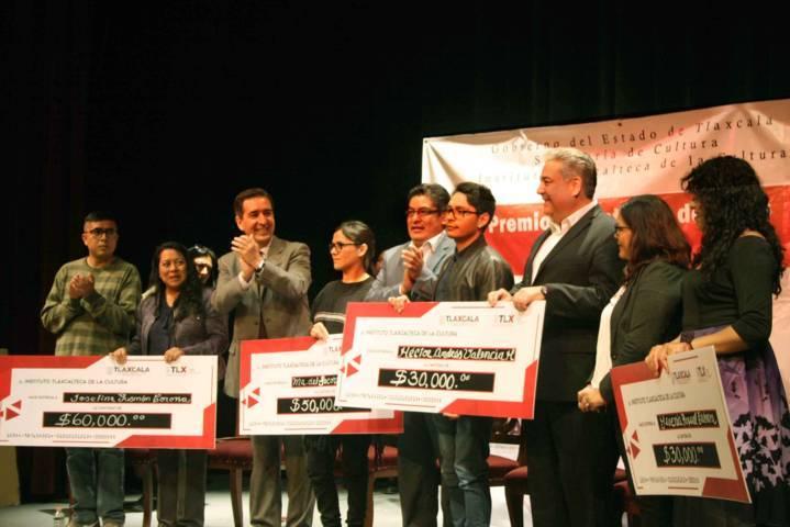 Entrega ITC Premios Estatales de Artes y Estímulos 2018