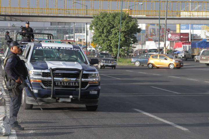 Comienza operativo de vigilancia por fiestas de fin de año en Tlaxcala