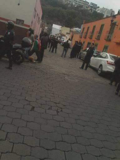 Se registra balacera en pleno centro de la capital tlaxcalteca