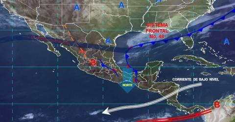 Pronóstico del tiempo en México para lunes 1 de abril del 2019