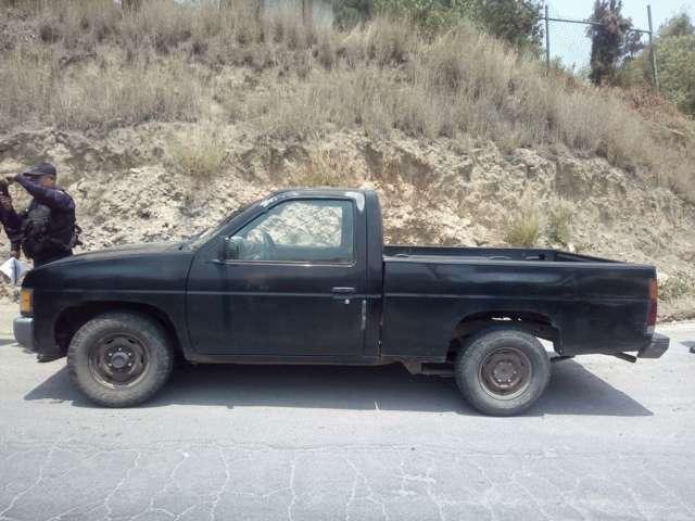 Evita Policía Estatal robo de camioneta en Apizaco