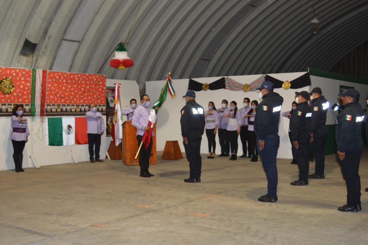 De manera virtual, dieron el Grito de Independencia en Ixtenco