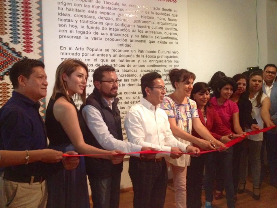 Abren exposición de Arte Popular en Galería Municipal de Tlaxcala